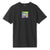 t-shirt huf ACID HOUSE BOX LOGO S/S TEE BLACK
