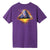 t-shirt huf ANCIENT ALIENS S/S TEE GRAPE