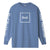 t-shirt huf DOMESTIC LS TEE GREEK BLU