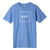 t-shirt huf ESSENTIALS BOX LOGO S/S TEE GREEK BLU