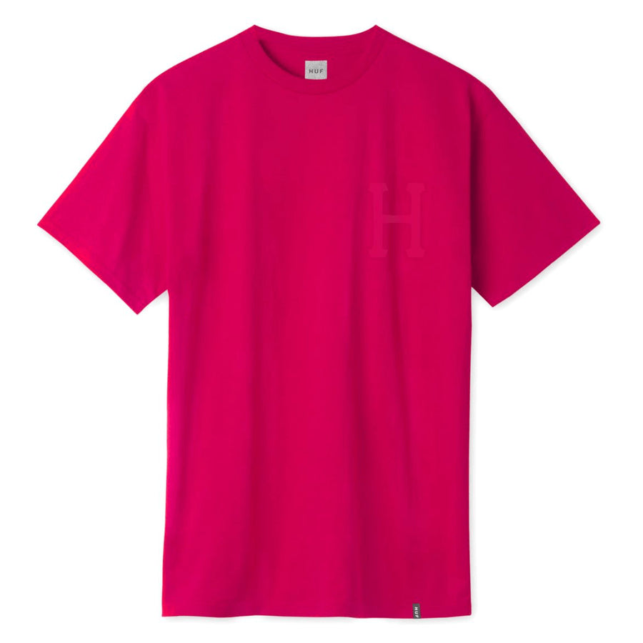 huf t-shirt,Hi-Vis Classic H S/S Tee Infrared, image 1