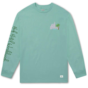 huf Smokers Lounge Valet L/S Tee Mint foto 2