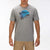 t-shirt hurley BEACHSIDE S/S DK GREY HEATHER