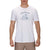 t-shirt hurley CHIMPWRECKED S/S WHITE