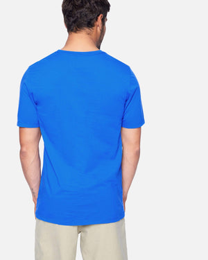 hurley Everyday Wash Oao Slashed Ss Signal Blue foto 5