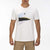 t-shirt hurley PREMIUM ICON SLASH PALM S/S WHITE