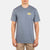 t-shirt hurley SURF AND ENJOY S/S SMOKE GREY