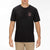 t-shirt hurley WAXED S/S BLACK