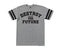 t-shirt loser machine STARTING LINE TWO STRIPE JERSEY GRAPHITE HEATHER/BLACK