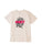 t-shirt obey BLOOD AND ROSES SHEPARD - SUSTAINABLE TEE CREAM