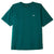 t-shirt obey BOLD HEAVYWEIGHT TEE MALLARD GREEN