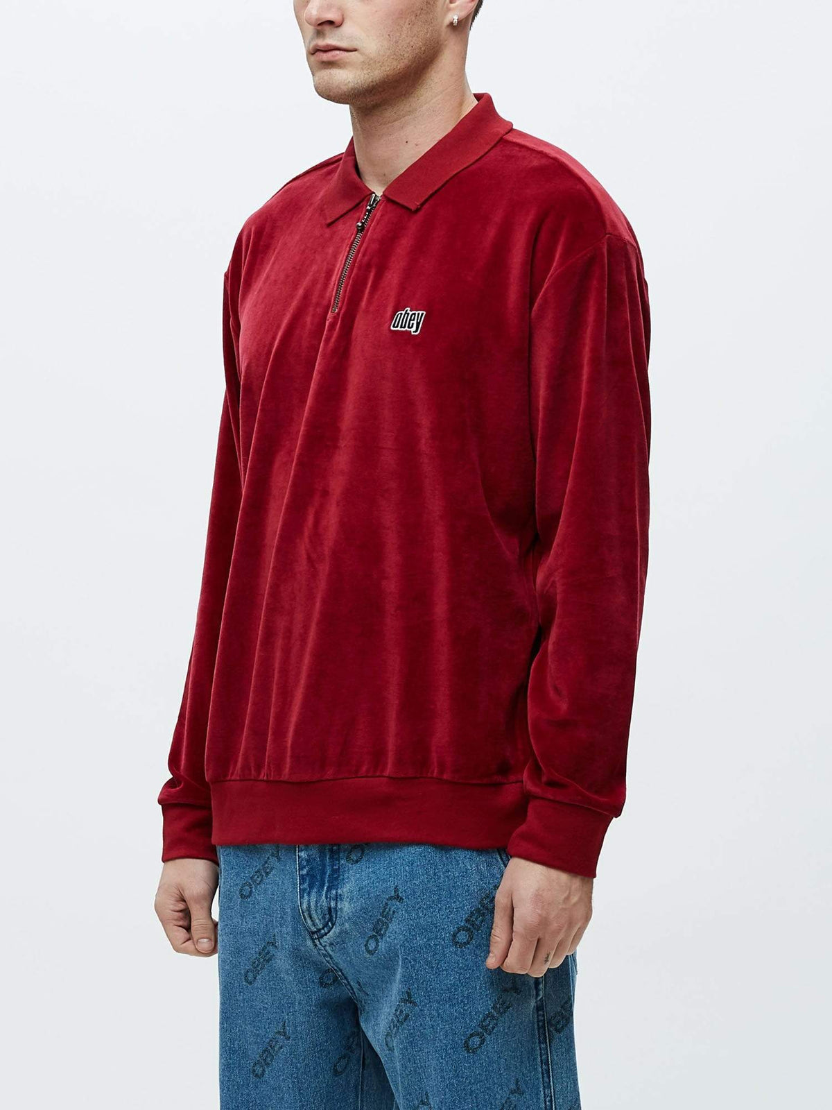 Obey Clothing BUSTER CLASSIC POLO- Polo red