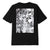 t-shirt obey C.R.E.A.M. ICONS SUSTAINABLE TEE BLACK