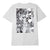 t-shirt obey C.R.E.A.M. ICONS SUSTAINABLE TEE WHITE