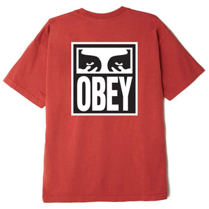 obey Eyes Icon 2 Heavyweight Tee Chili foto 2