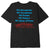 t-shirt obey LOVE IS THE CURE ORGANIC SUPERIOR TEE BLACK