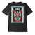 t-shirt obey DECO FLOWER CLASSIC TEE BLACK