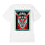 t-shirt obey DECO FLOWER CLASSIC TEE WHITE