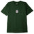 t-shirt obey OBEY DOUBLE VISION CLASSIC TEE FOREST GREEN