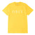 t-shirt obey OBEY NOVEL 2 SUSTAINABLE TEE YELLOW