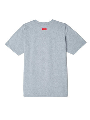 obey Obey Pole 30 Years Basic Tee Heather Grey foto 2