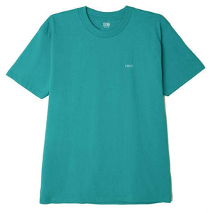 obey Obey Rise Above Rose Classic Tee Teal foto 2