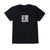 t-shirt obey THE MEDIUM IS THE MESSAGE CUSTOM BOX TEE OFF BLACK