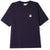 t-shirt obey ORGANIC ICON SS KNIT DARK NAVY