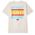 t-shirt obey REVOLT VOTE REPEAT CLASSIC T-SHIRT CREAM