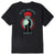 t-shirt obey RISE ABOVE FLOWER FIST SHEPARD - CLASSIC TEE BLACK