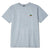t-shirt obey TRINITY CLASSIC TEE HEATHER GREY