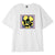 t-shirt obey WE MAKE THE FLOWERS GROW HEAVYWEIGHT TEE WHITE