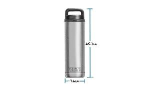 Yeti Rambler Bottle 18 Oz Chug Granite foto 5
