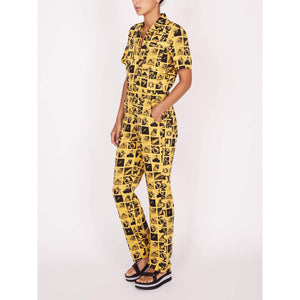 obey Menagerie Coverall Yellow Multi foto 2