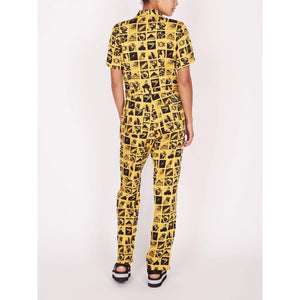 obey Menagerie Coverall Yellow Multi foto 3