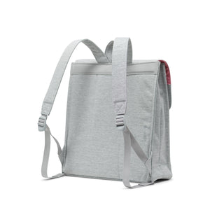 herschel City Mid-Volume Light Grey Crosshatch foto 4