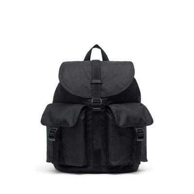 zaini herschel DAWSON SMALL LIGHT BLACK
