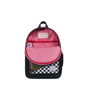herschel Heritage Youth Black/Checker/Woodland Camo foto 3