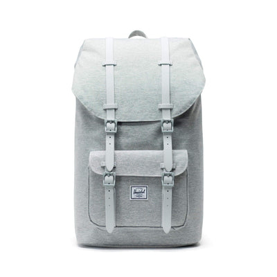 zaini herschel LITTLE AMERICA LIGHT GREY CROSSHATCH/GREY RUBBER
