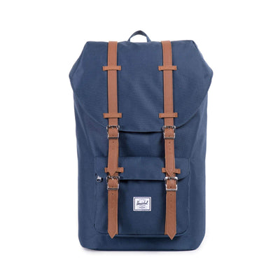 zaini herschel LITTLE AMERICA NAVY/TAN