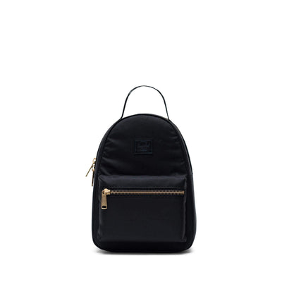 zaini herschel NOVA MINI LIGHT BLACK