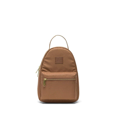zaini herschel NOVA MINI LIGHT SADDLE BROWN