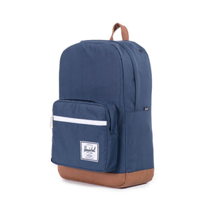 herschel Pop Quiz Navy/Tan Synthetic Leather foto 3