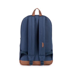 herschel Pop Quiz Navy/Tan Synthetic Leather foto 4