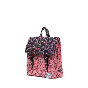 herschel Survey Kids Multi Ditsy Floral Black/Flamingo Pink foto 3