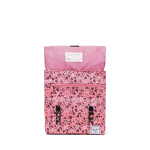 herschel Survey Kids Multi Ditsy Floral Black/Flamingo Pink foto 2