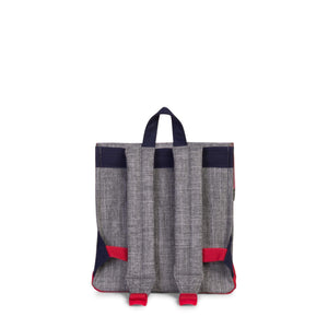 herschel Survey Kids Raven Crosshatch/Peacoat/Red foto 4