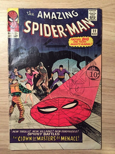 Amazing Spider-man #22 3.5 VG- 1965