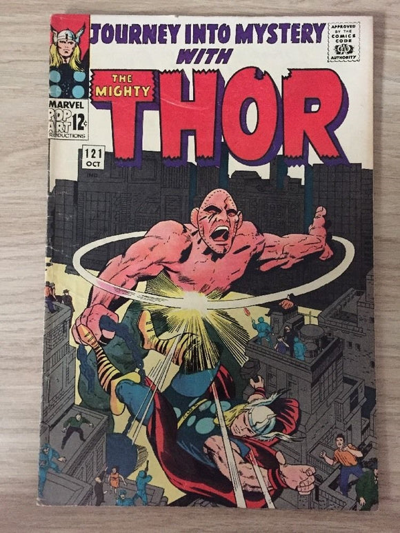 Journey Into Mystery 121 with Thor (October 1965)