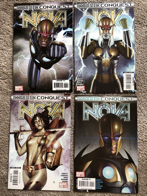 Nova Annihilation Conquest Set #4 #5 #6 #7